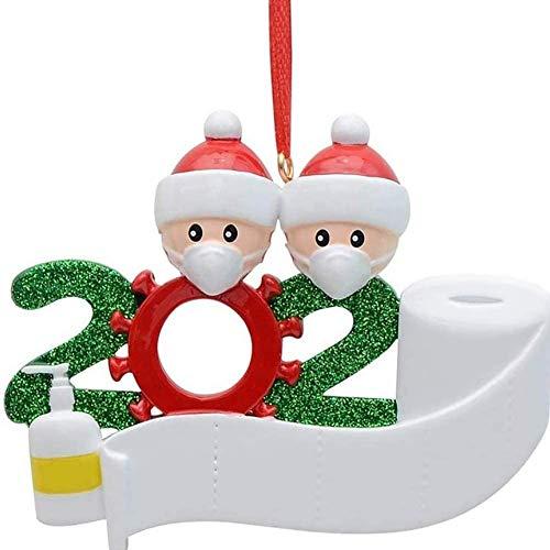 Dream Loom Weihnachtsschmuck 2020, Personalisierte Familie Weihnachten Feiertags Dekorationen DIY Name, Weihnachtsbaumanhänger Für Weihnachtsbaum Deko
