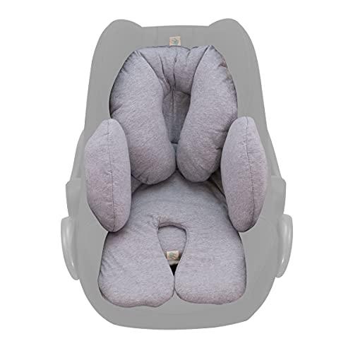 Janabebé Réducteur universel pour maxicosi, bassinet, siège auto, poussette Grey Stone