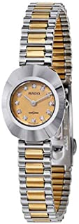 Rado Women's Rose Gold Dial Stainless Steel Band Watch - R12558633