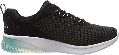 Skechers Damen Skech-air Ultra Flex Sneaker, Schwarz, 39 EU