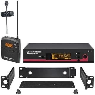 Sennheiser ew 122 G3 Wireless Bodypack Microphone System, EM 100 G3 Receiver, SK 100 G3 Bodypack, ME 4 Lavalier Mic, GA 3 Rackmount Kit, A: 518-558MHz