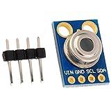 HiLetgo MLX90614 Non-Contact Infrared Temperature Sensor Module GY-906 IIC I2C 3-5V for Arduino 51 MCU Raspberry Pi