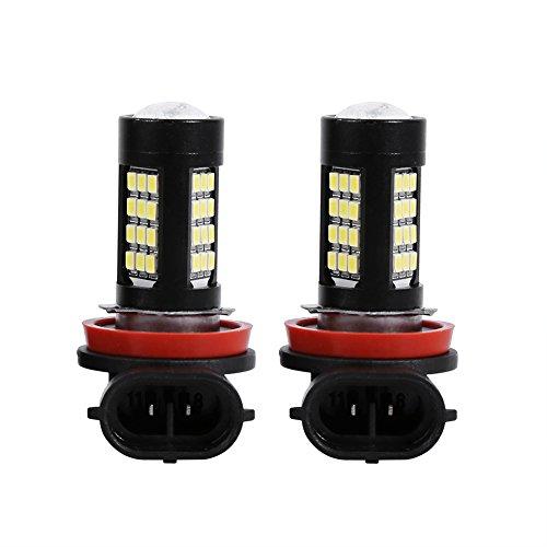 4 W H11 H8 ampoules lED avec la substitution du projecteur lumière de brouillard de voiture de la lampe de conduite, paquet de 2