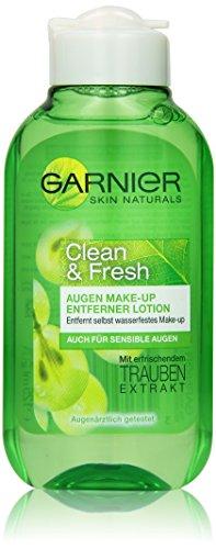 Garnier Clean & Fresh Augen Make-Up Entferner, 1er Pack (1 x 125 ml)