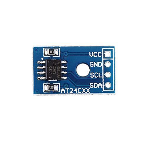 RLJJCS1163 3pcs AT24C08 Module I2C Interface EEPROM Storage Module Effaceable Programmable Read only Memory Card Smart Car Supplement