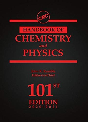 Compare Textbook Prices for CRC Handbook of Chemistry and Physics 101 Edition ISBN 9780367417246 by Rumble, John
