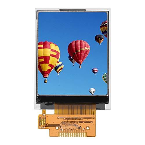 DollaTek 1.8 Pulgadas 65K Color Pantalla TFT LCD Módulo 128x160 Pantalla ST7735 Interfaz Serie SPI Puertos IO para Arduino DIY Kit STM32
