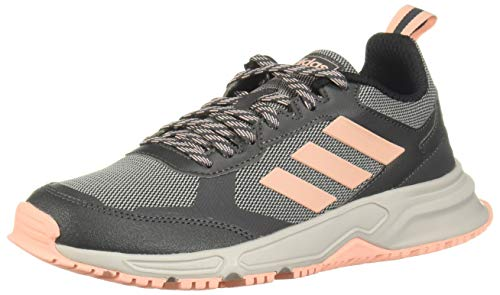 adidas Rockadia Trail 3.0, Zapatillas Running Mujer, Gris Grey Six Glow Pink Grey Two F17, 38 2/3 EU