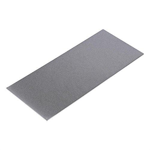 Dünnschliff Polieren Diamant Quadrat Messer Werkzeug Quadrat Polieren Schleifstein Messer Schärfen Körnung 80 bis 3000 für Schleifstein / Camping / Seal Carving Messer (Körnung 600)