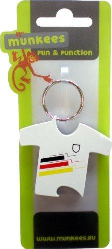 Munkees Flaschenöffner Deutschland Trikot Schlüsselanhänger by munkees