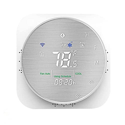 Bomba de Calor Inteligente SUCHUANGUANG, termostato Inteligente WiFi estándar de EE. UU, Controlador de Temperatura Ambiente + termostato ABS (Retardante de Llama)