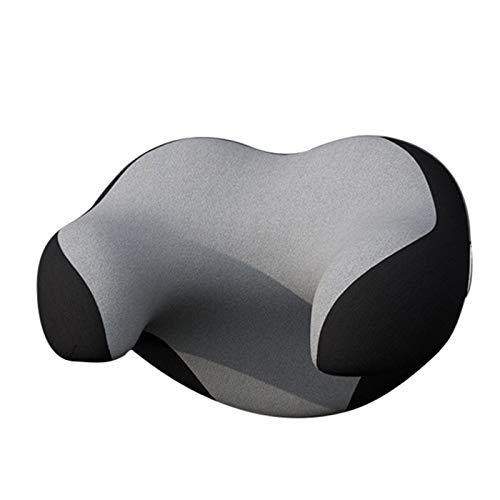 Haonan Car U-Shape Neck Guard Poggiatesta Collo Cuscino 3D Memory Foam Morbido Traspirante Sedile Poggiatesta Pad Accessori
