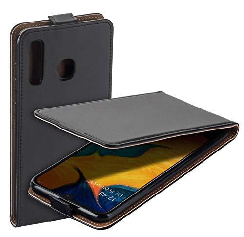 yayago - Custodia a libro per Samsung Galaxy A20 / A30, colore: Nero