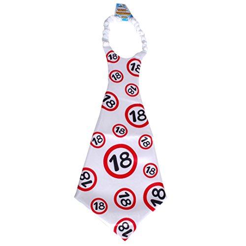 Karabu Maxi Cravatta cravattona 18 Anni Compleanno