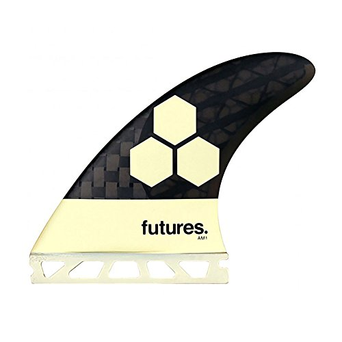 Future Fins AM1 Vector II Blackstix 3.0 V2AM1 Thruster Surfboard Fin Set Carbon Fiber by Future Fins