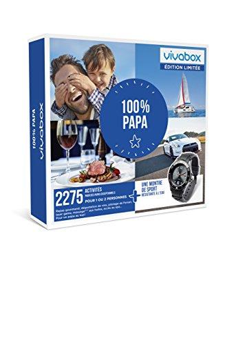 Vivabox - 100% PAPA - 2275 activités : pilotage, repas … + 1 montre de sport