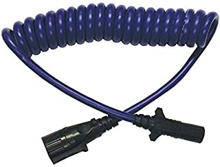 Blue Ox BX88206 Coiled Cable with Female Receptor