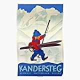 Zaldini Cute Village Berner Kandersteg Oberland Blanc