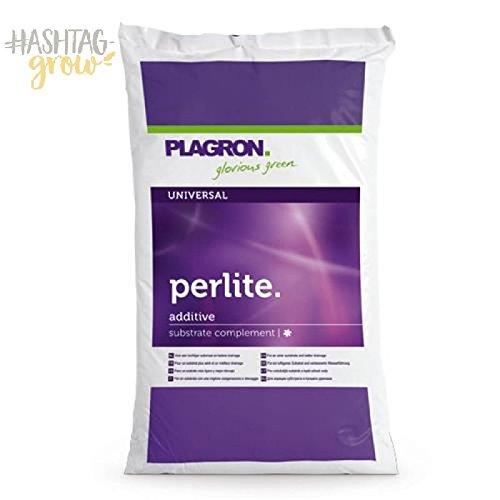 Plagron Perlite 60 L aufgeschäumtes Vulkangestein Substrat f. Wurzelentwicklung