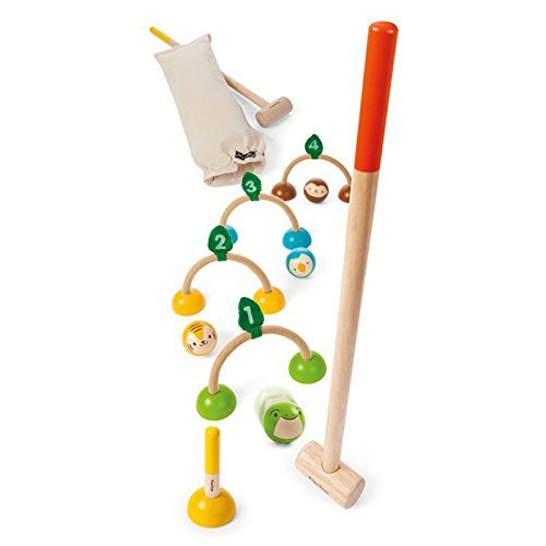 PlanToys Wooden Croquet Set (5189)