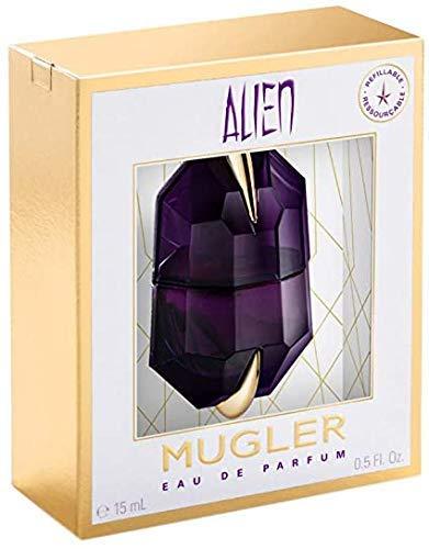 100% Authentic MUGLER Alien women's EDP 15ml Made in France + 2...