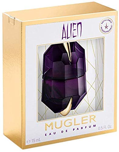100% Authentic MUGLER Alien women's EDP 15ml Made in France + 2 Niche perfume samples free