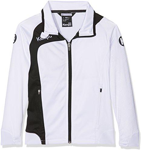 Kempa Kinder Peak Multi Jacke Bekleidung Teamsport, weiß/Schwarz, 152