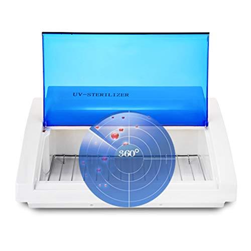 RHSML Caja De Limpiador De Esterilizador UV, 9W Manicura Herramientas
