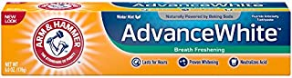 Arm & Hammer Advance White Breath Freshening Toothpaste, 6 oz (Packaging May Vary)
