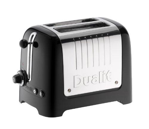 Dualit 26225 Lite tostapane 2 Slot, 1100 W, Plastica, 2 Scomparti, Black