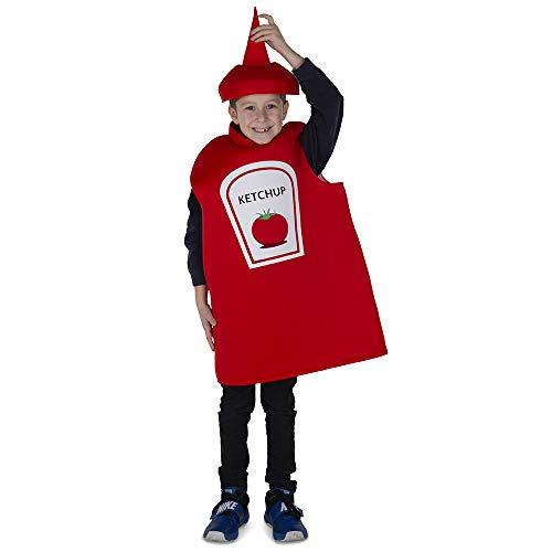 Dress Up America Ketchup Bottiglia Costume per...