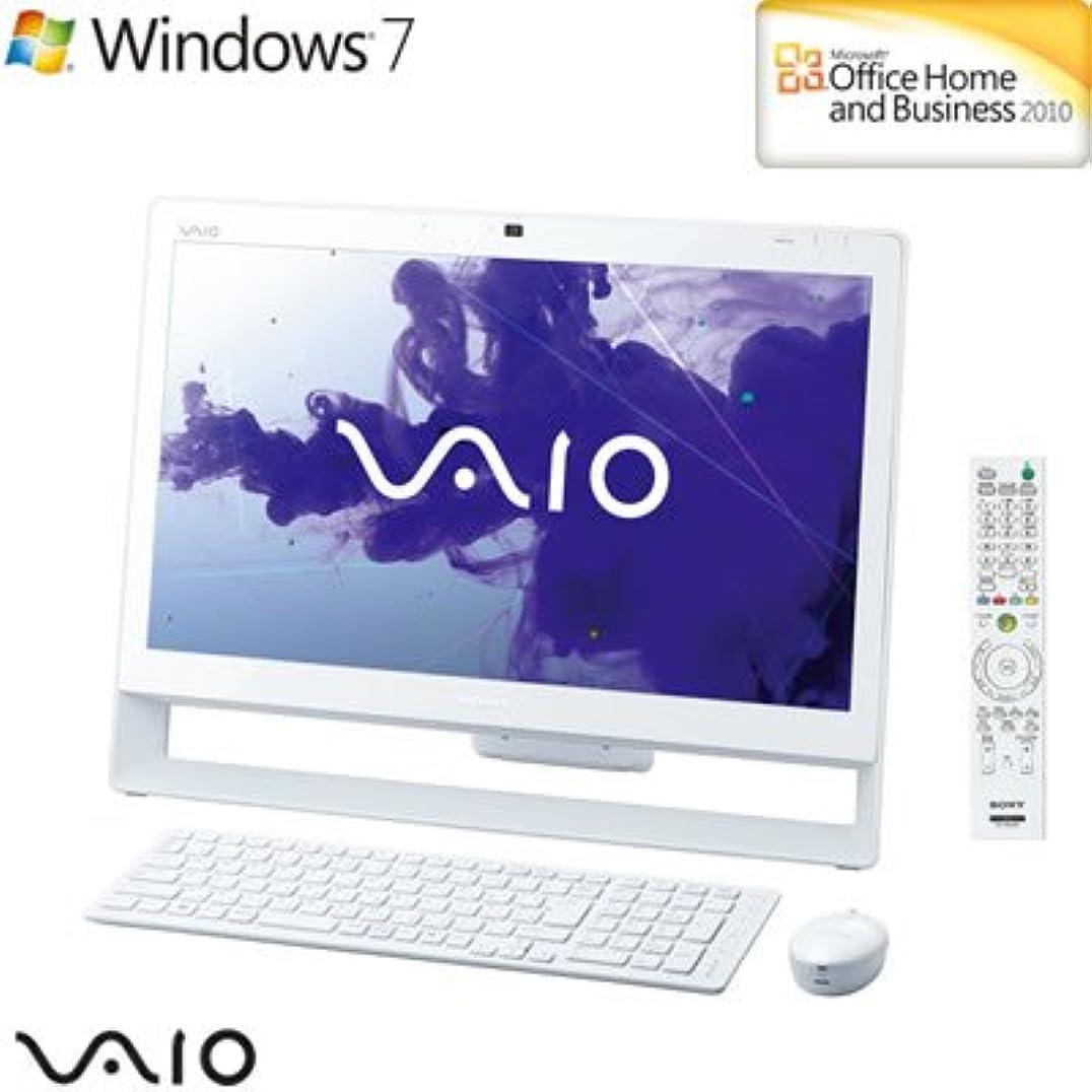 想像する寸法蒸発ソニー デスクトップパソコン バイオ Jシリーズ VPCJ247FJ/W 21.5型 VPCJ247FJ-W ホワイト