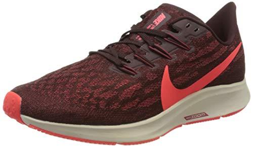 Nike Men's Air Zoom Pegasus 36 Trail Running Shoes, Multicolour (Mahogany/Bright Crimson/Cedar 200), 7 UK
