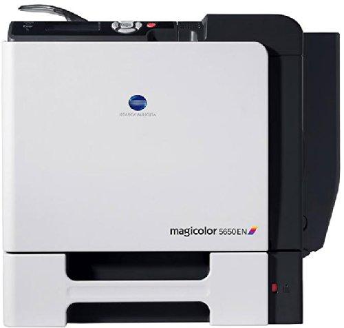 Konica Minolta Magicolor 5650En - Impresora láser Color (30 ppm Blanco y Negro, 30 ppm Color, A4)