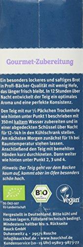 Bauckhof Dinkelbrot Vollkorn Demeter, 6er Pack (6 x 500 g) - 4