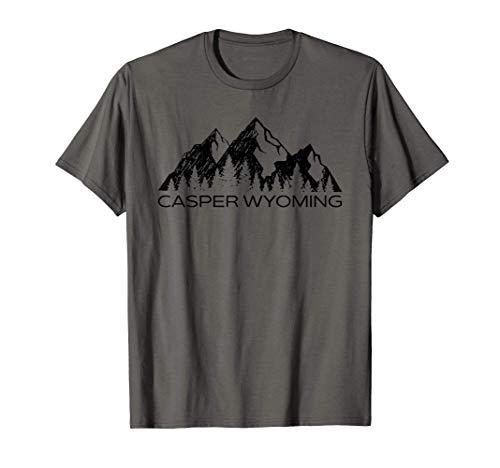Casper Wyoming Mountain Souvenir Gift | Casper Wyoming T-Shirt
