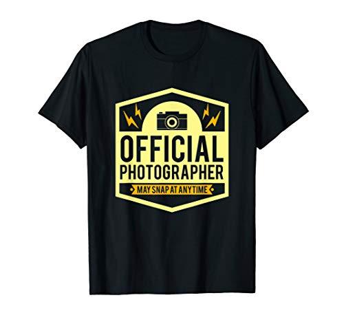 Offizieller Fotograf - Fotografie, Foto, Shooting & Kamera T-Shirt