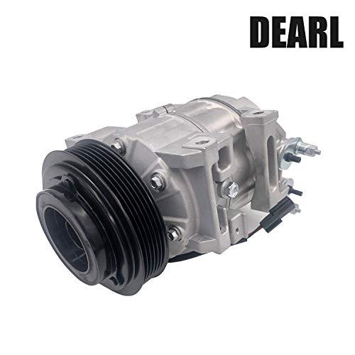 Dearl A/C AC air condition compressor with Clutch L4 2.5L compatible with Nissan 07-12 Altima Sentra 07 08 09 10 11 12 (2007 2008 2009 2010 2011 2012)