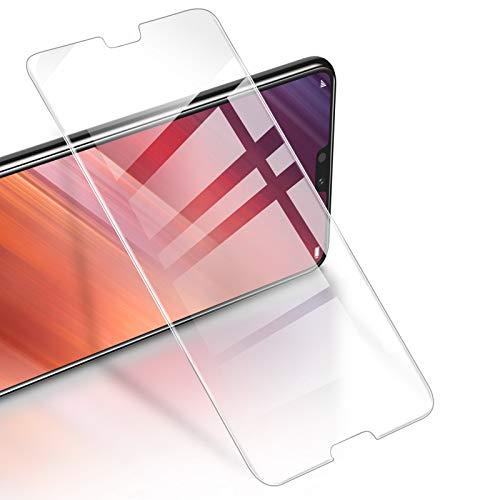 RIWNNI [3 Unidades Cristal Templado para Huawei P20, 0.25mm Ultra Fino Alta Definicion Protector Pantalla 9H Dureza Vidrio Templado Sin Burbujas para Huawei P20 - Transparente