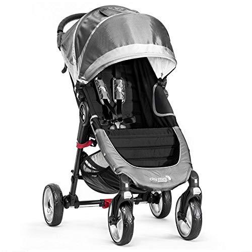 Baby Jogger City Mini 4 Wheel Single Stroller Steel Grey
