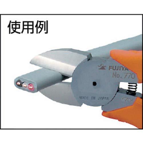 フジ矢電工名人強力ニッパ(VA線切断)200mm刃部鏡面仕上げで切れ味抜群770-200
