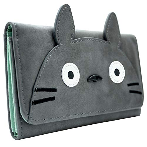 Mein Nachbar Totoro Charakter Portemonnaie Geldbörse Grau