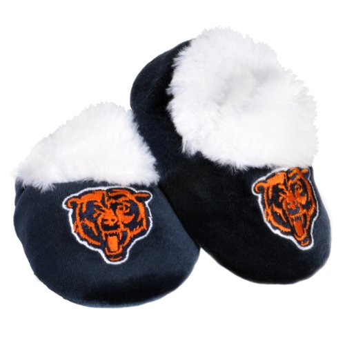 Chicago Bears Logo Baby Bootie Slipper Extra Large