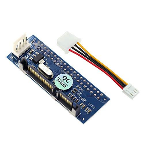 worahroe Adaptador HDD 3.5 IDE a SATA Duro Convertidor de a SATA Disco Duro 40 Pin Conector de Disco Duro con Cable de Datos