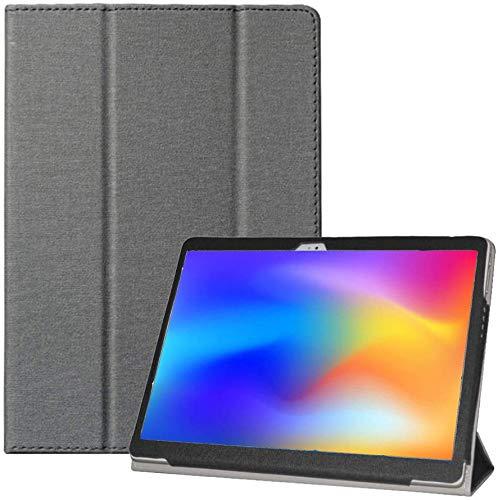 RLTech Hülle für Alldocube X Neo, Ultra Schlank Schutzhülle Etui mit Standfunktion Smart Case Cover für Alldocube X Neo 10,5 Zoll, Schwarz