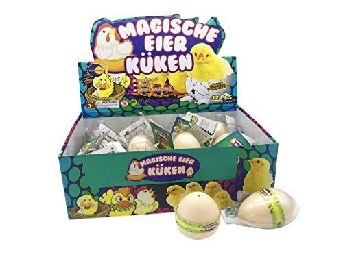 JustRean Toys Magisches Küken-Ei | niedliches Küken aus dem Schlüpf-Ei | Magic Growing Egg