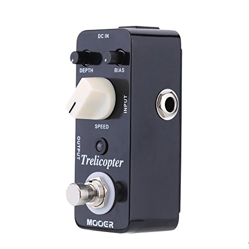 Festnight Mooer Trelicopter Micro Mini Tremolo ottico pedale effetto per chitarra elettrica True Bypass