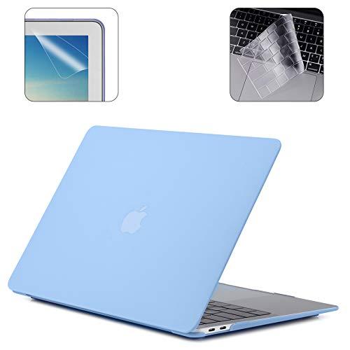mit//ohne Retina Display, 2015 oder /älter Version A1466 // A1369, Release 2010-2017 Farbe Marmor /älter MacBook Air 13 Zoll MOSISO EU//UK Tastaturschutz Kompatibel MacBook Pro 13//15 Zoll