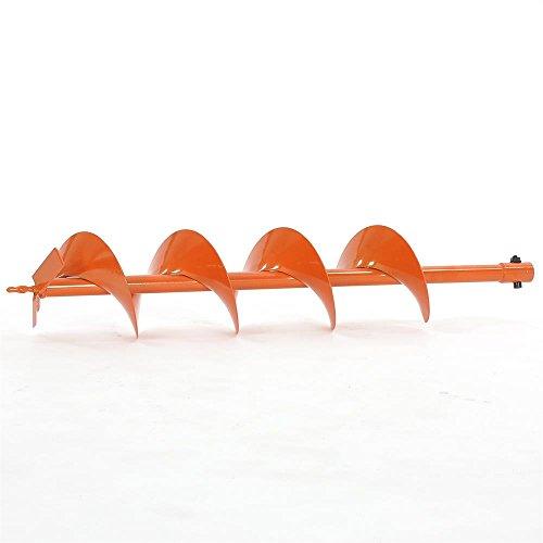FUXTEC Erdbohrer 100 mm mit 20 mm Schaftaufnahme und 760 mm Länge