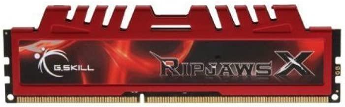 G.Skill 8GB (1 x 8GB) DDR3 PC3-14900 RipjawsX Series (10-11-10-30) Single module Desktop Memory Model F3-14900CL10S-8GBXL